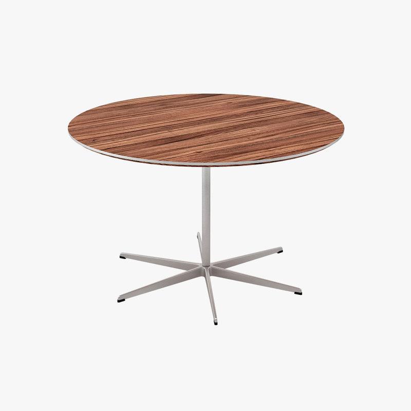 3d model tables designed arne