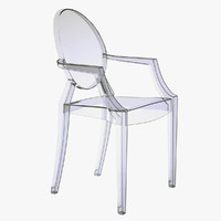 Kartell - Louis Ghost Armchair