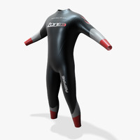 3dsmax wetsuit characters