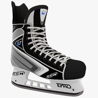 3ds max ice hockey skates