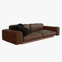 Couch (Leather/Aged)