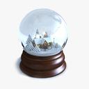 Snowglobe 3D models