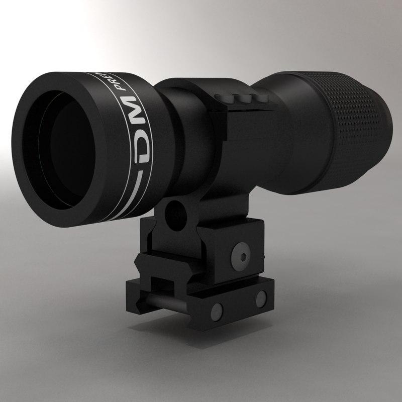 3d optical sign x4