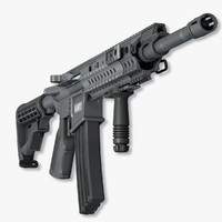 Submachine Gun Barrett REC7