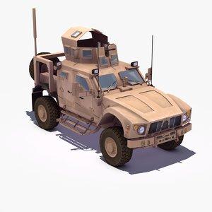 3d m-atv 4x4 mrap model