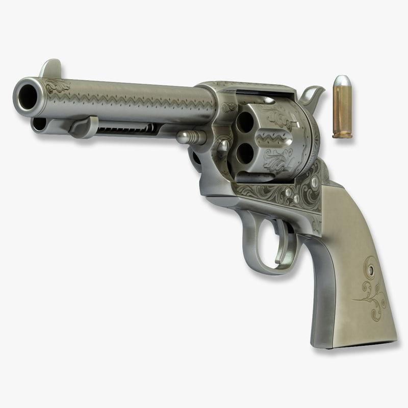 3d colt peacemaker