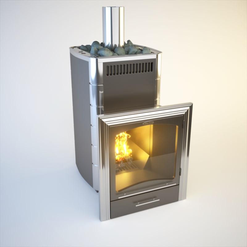 3dsmax stove wood burn