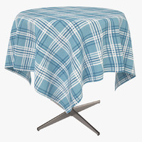 Cafe Table with cloth
