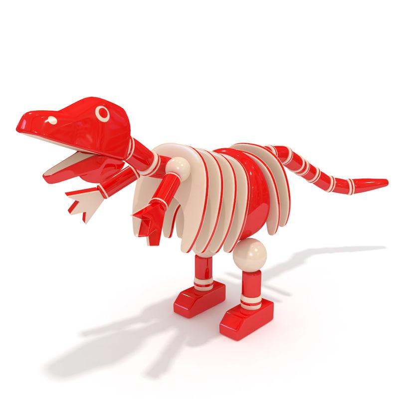 toy dinosaur 3ds