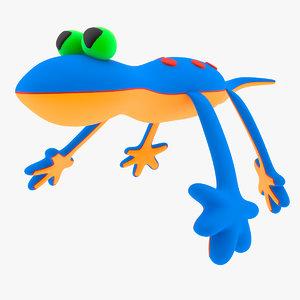 toy lizard 3d model