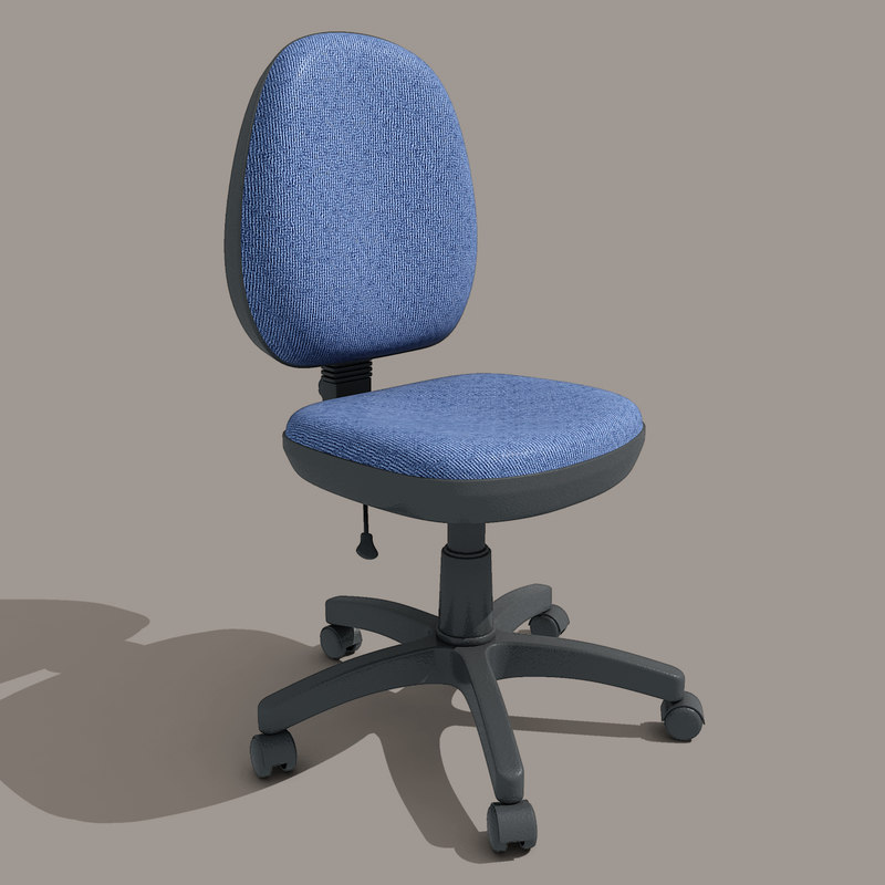 c4d chair office