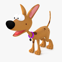 3ds dog cartoon