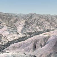 Afghanistan Terrain 28x20 Km