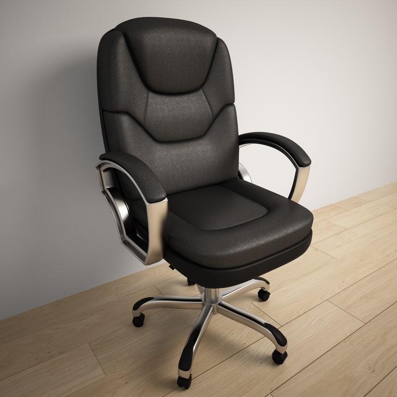 modern office armchair 3d max