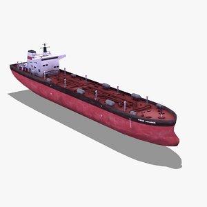 3ds max oil tanker ship