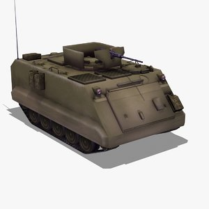 3d m113 apc army