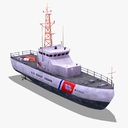 USCG MPC87 Patrol Boat