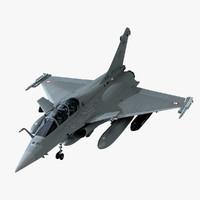 3dsmax dassault rafale fighter cockpit