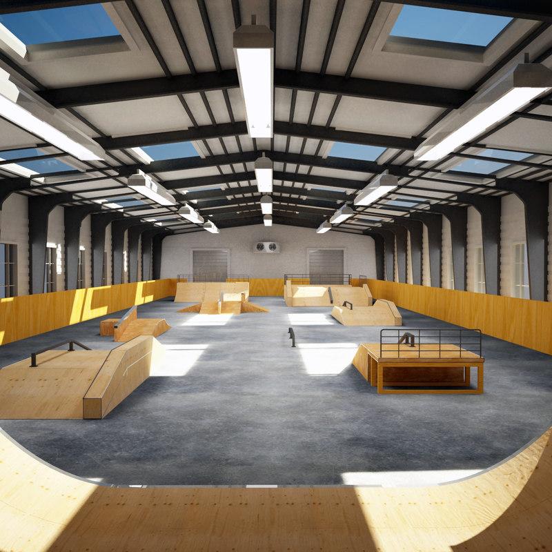 skatepark indoor 3ds