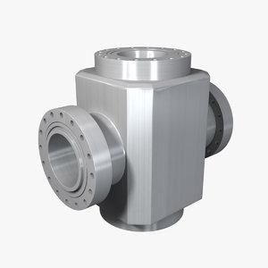 petroleum valve body obj