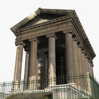 Temple of Portunus - Rome, Italy