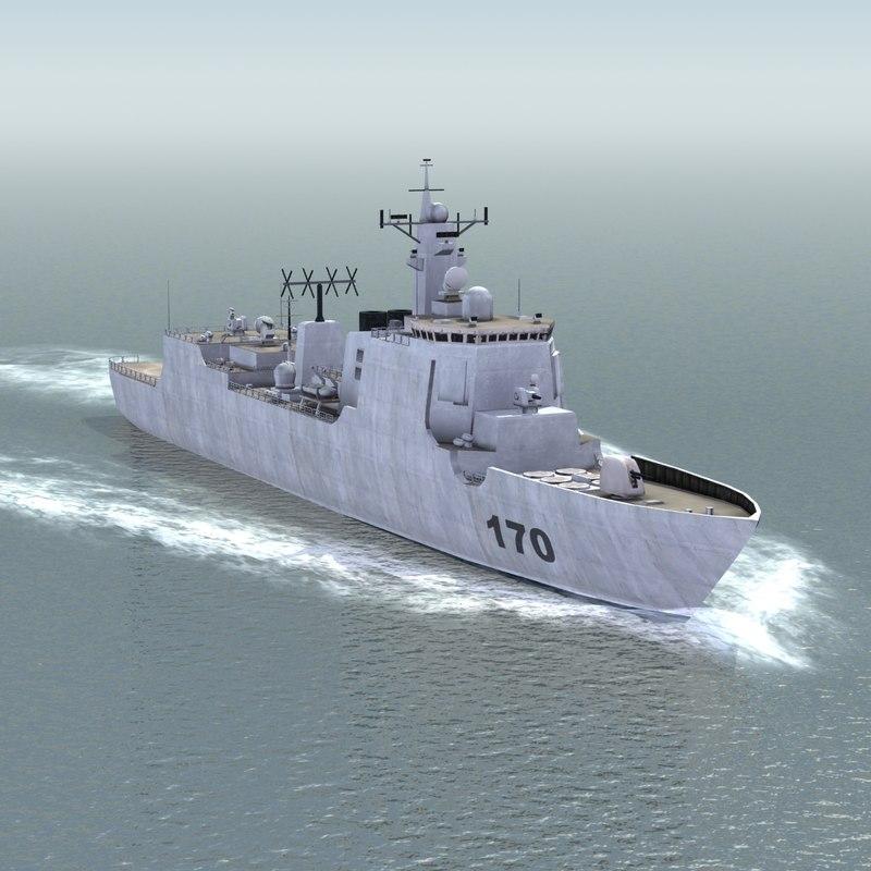 lwo lanzhou destroyer