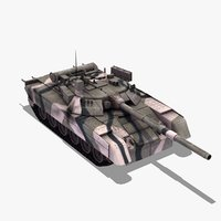 3d t80u mbt russian army