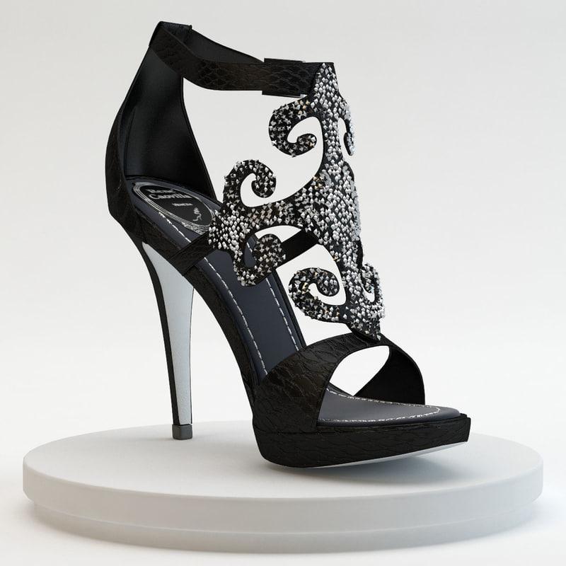 3dsmax - ayer noir shoes