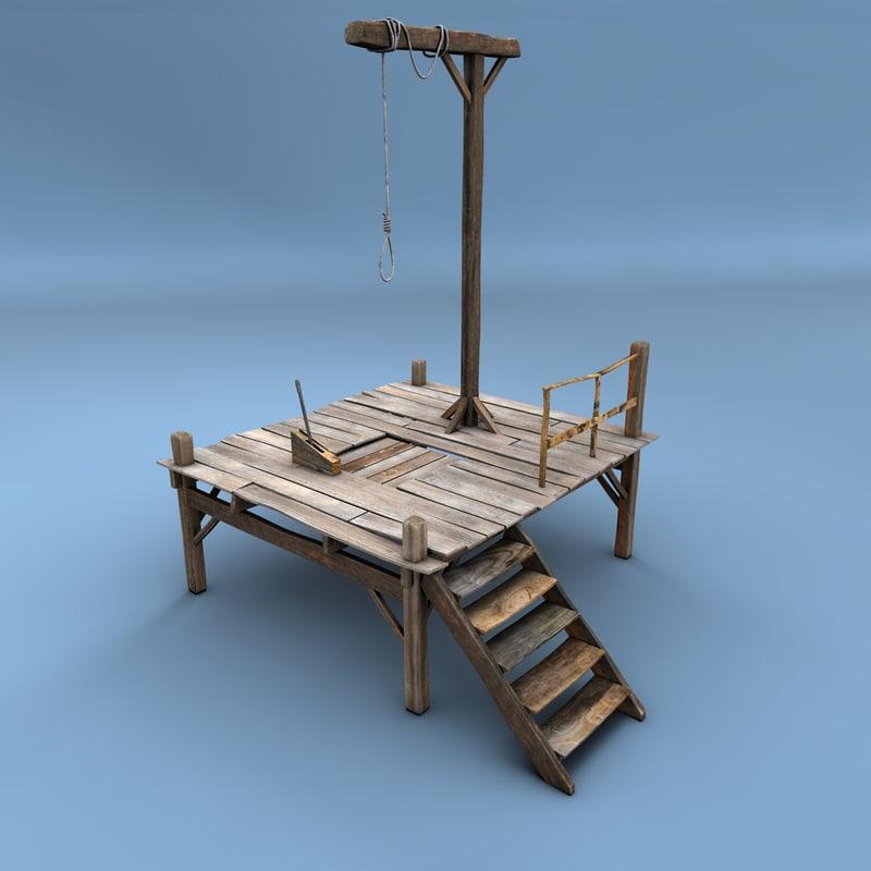 c4d gallows
