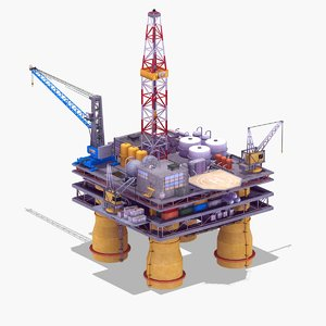 max oil rig offshore 2011
