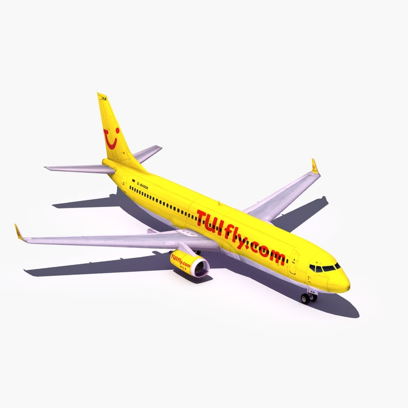 civilian commercial airliner 3d 3ds