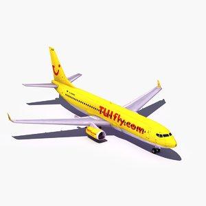 civilian commercial airliner 3d 3ds