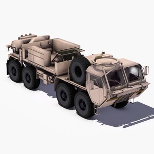 3d model oshkosh m984 hemtt
