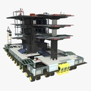 mobile launch platform 3D models