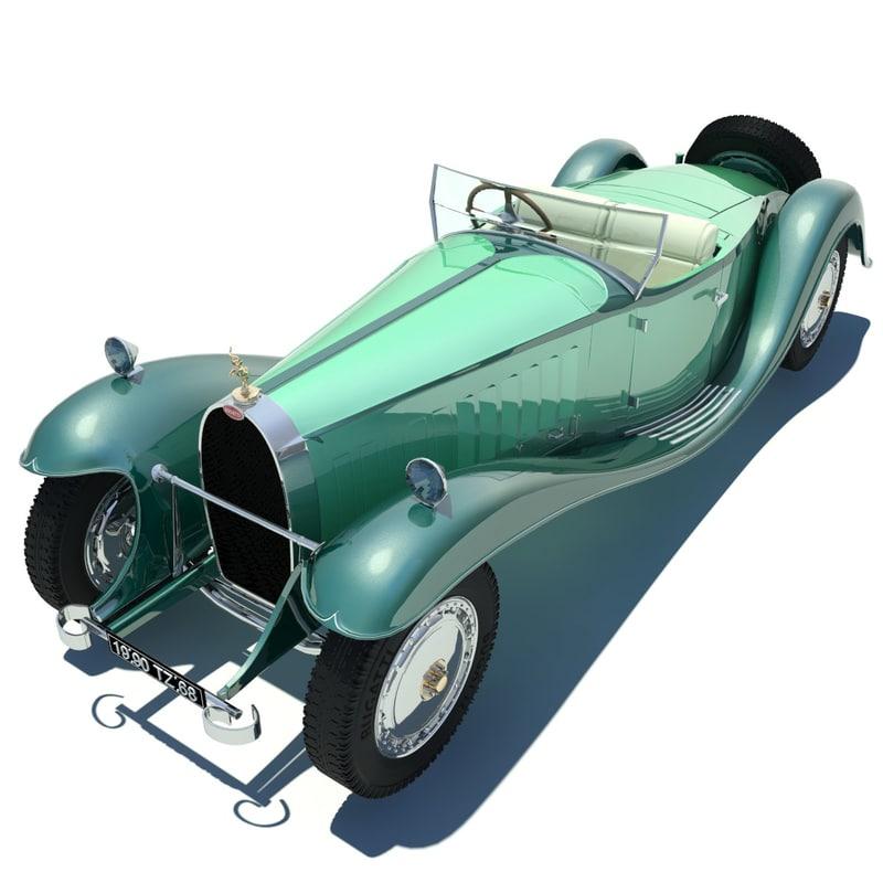 3ds max bugatti type 41 royale