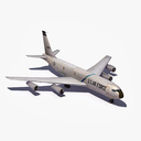 military tanker plane 3D models