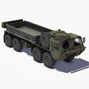 3d model of m985 hemtt cargo truck