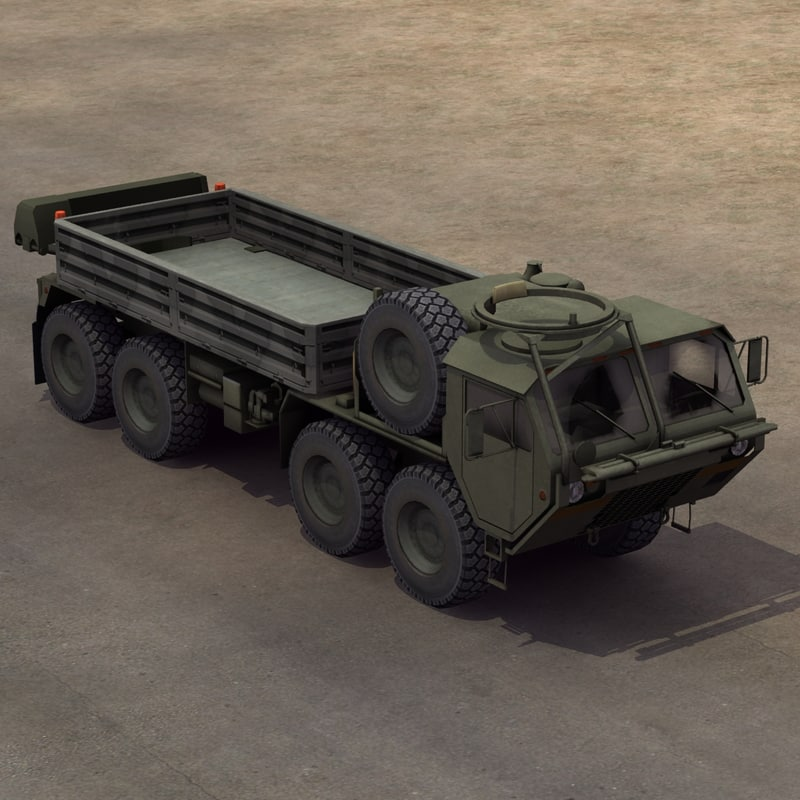 3d model of m985 hemtt cargo truck