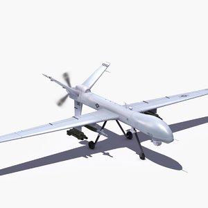 mq-9 reaper 3d x
