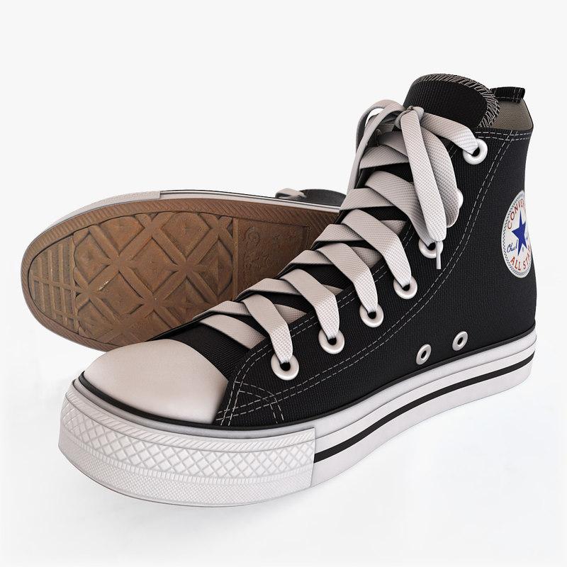 d513773c57351 3d model converse accessories