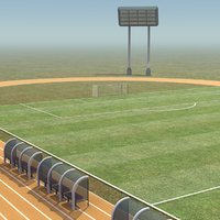 Soccer Field and Track