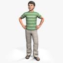 boy 3D models