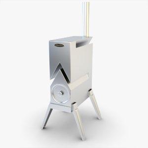 stove siber wood max