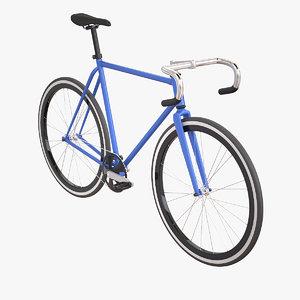 fixed gear bike 3ds