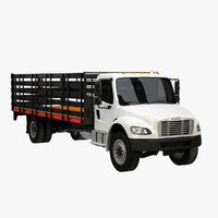 3d freightliner m2 model