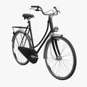 Dutch bicycles 3D models
