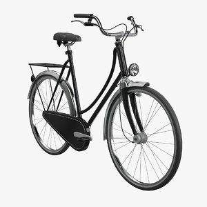 dutch bicycle 3d model