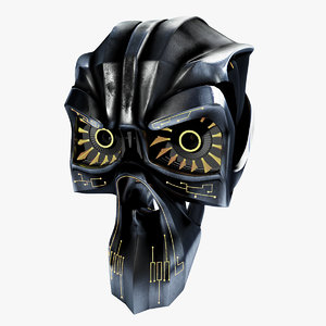 3d model cyber robot