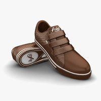 obj brown sport shoes