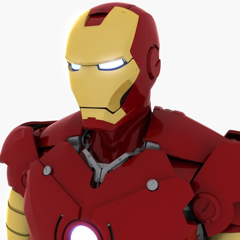 3ds max ironman mark iii armour